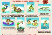 Правила безопасности на воде в летний период!