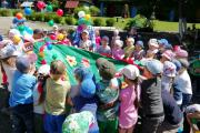 День защиты детей в детском саду.