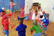 День супергероев в детском саду.