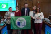 Церемония награждения «Зеленый флаг»
