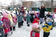 Зимние забавы в