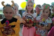 Ягодный фейерверк в детском саду.
