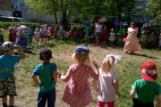 1 июня в детском саду отпраздновали День защиты детей.